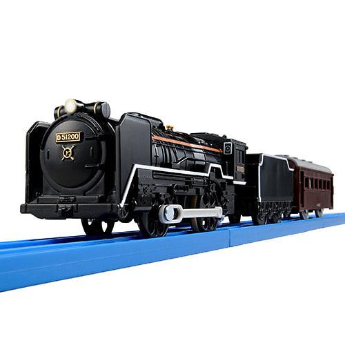 プラレール S-28 ライト付きD51蒸気機関車