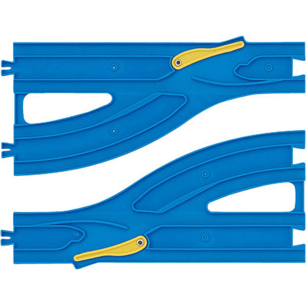 プラレール R-13 単線・複線ポイントレール