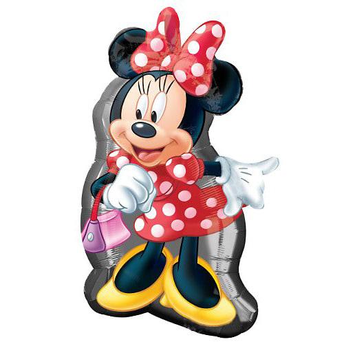 ミニーマウス ダイカットバルーンA