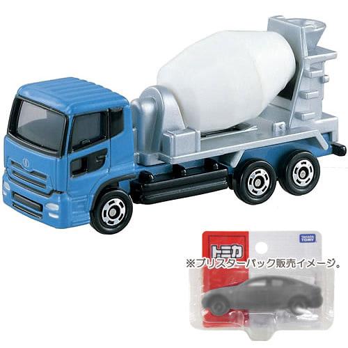 トミカ No.053 日産ディーゼル クオン ミキサー車(BP)