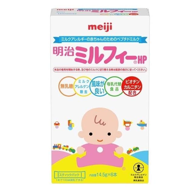 明治ミルフィーHP スティックパック(14.5gx6本)【粉ミルク】