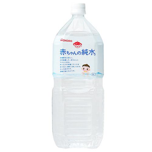 和光堂 赤ちゃんの純水2L