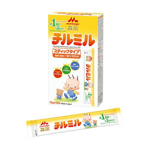 森永フォローアップミルク チルミル ハンディパック 14gx10本【粉ミルク】