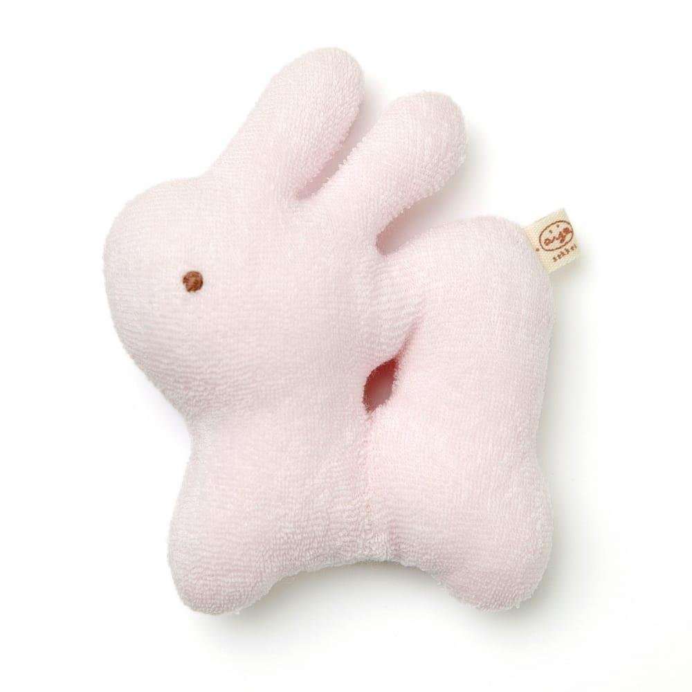 【愛情設計】ガラガラ☆低刺激素材(ピンク・フリーサイズ)オールシーズン用★日本製★