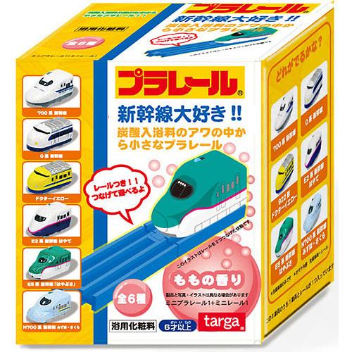 プラレール 新幹線大好き炭酸入浴料 車両+レール付き