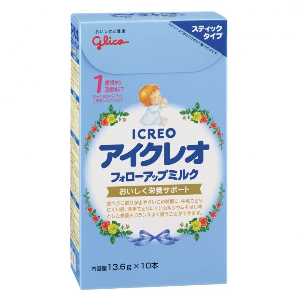 アイクレオのフォローアップミルク 13.6gx10P【粉ミルク】