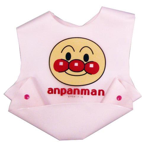 アンパンマン 立体ポケットエプロン (ピンク)