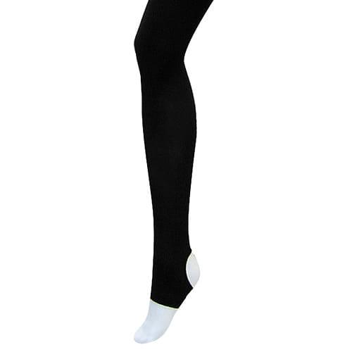 【クリアランス】漆黒トレンカ80デニール(ブラック/M~L)