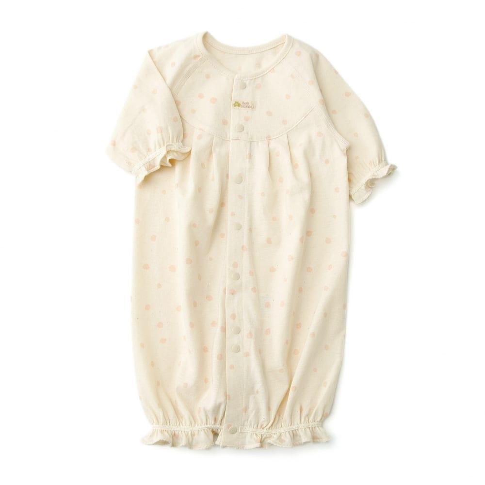 【愛情設計】ベンリードレス(2WAYドレス)☆オーガニックコットン(ピンク・50~60cm)夏用★日本製★