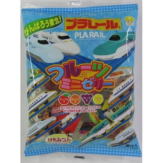 プラレール フルーツミニゼリー 16g×20個【お菓子】