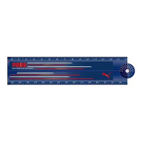 トイザらス・ベビーザらス オンラインストア折りたたみ30cm定規(ブルー)
