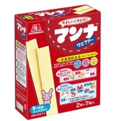マンナウェファー 2枚x7袋【お菓子】