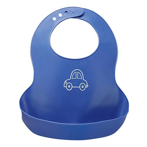 ベビーザらス限定 プラスチックエプロン (ブルー)