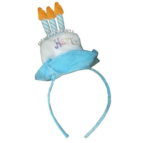 【クリアランス】お誕生日カチューシャ(ブルー)