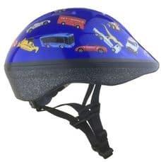 トイザらス限定 トミカアジャスタブルヘルメット ジュニア用(ブルー)(47~55cm)