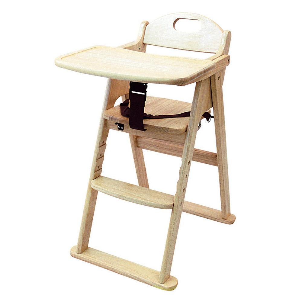 ベビーザらス限定 木製ハイチェア ナチュラル ステップ切り替え【送料無料】