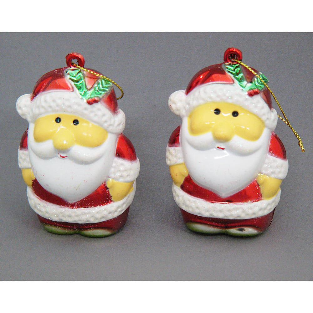 【クリスマス】トイザらス チアー! 7cm サンタオーナメント 2個