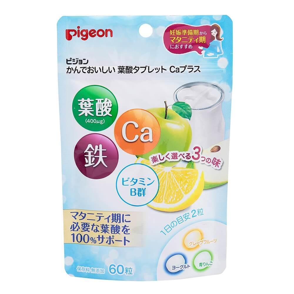葉酸タブレット カルシウムプラス 60粒
