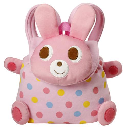 【ホットビスケッツ】ビーンズくん&キャビットちゃん ミニリュック ピンク