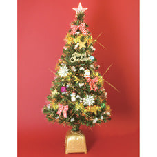 【クリアランス】【クリスマスツリー】トイザらス限定  120cm ファイバーツリー サンタ
