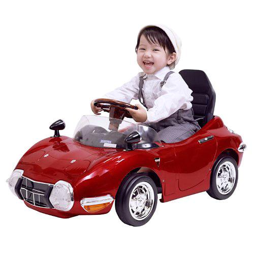 ペダルカー トヨタ2000GT(メタリックレッド)【オンライン限定】【送料無料】