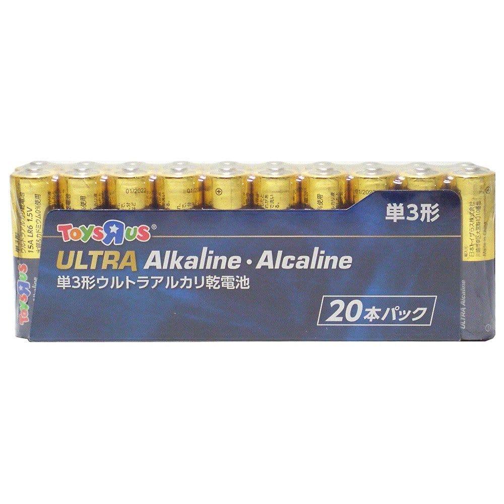 トイザらスオリジナル アルカリ乾電池 単3形 20本パック