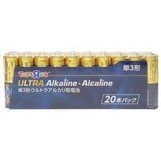 <トイザらス> トイザらスオリジナル アルカリ乾電池 単3形 20本パック