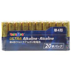 <トイザらス> トイザらスオリジナル アルカリ乾電池 単4形 20本パック