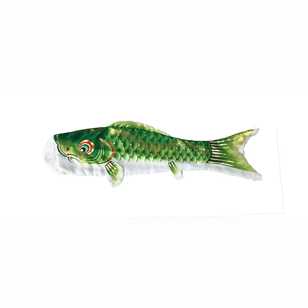 【鯉のぼり】ベランダセット大翔 0.8m グリーン単品【送料無料】