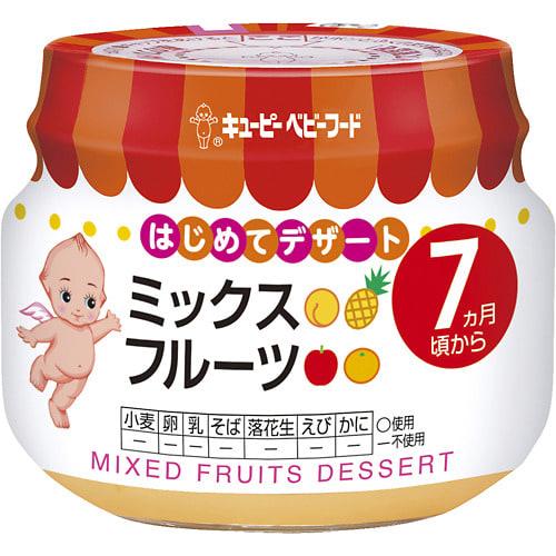 【キユーピー】 キユーピーベビーフード ミックスフルーツ