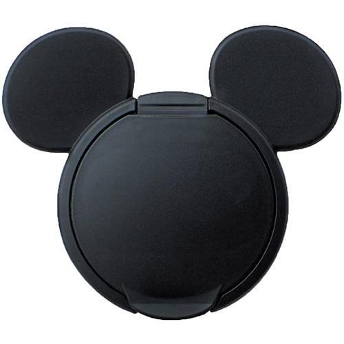 ウェットティッシュふた ミッキーマウス ブラック