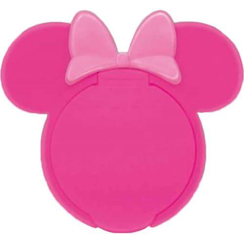 ウェットティッシュふた ミニーマウス チェリーピンクxピンク
