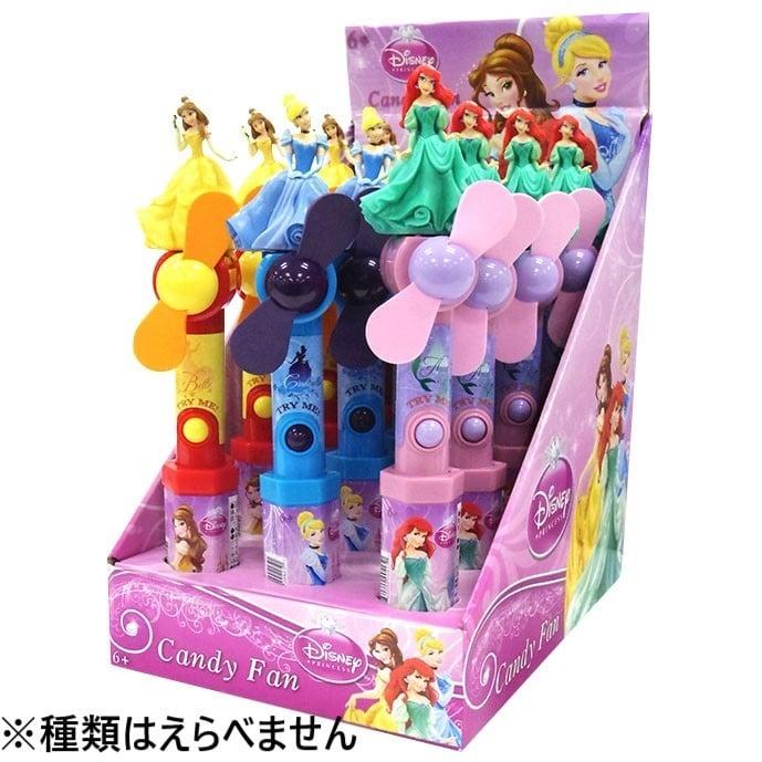 ディズニープリンセス ファン【お菓子】