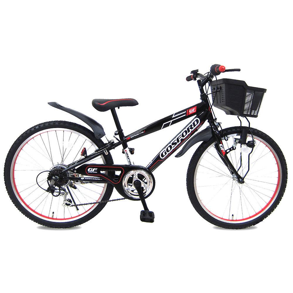 トイザらス・ベビーザらス オンラインストア24インチ 子供用自転車 CTBゴスフォード(ブラック/レッド)【男の子向け】【オンライン限定】