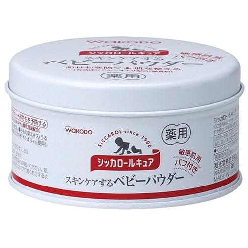 和光堂 【オンライン限定】シッカロールキュア 140gパフ付き
