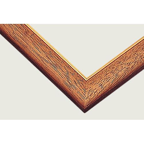 ゴールドモール木製パネル MP095(102x34) ウォールナット【送料無料】