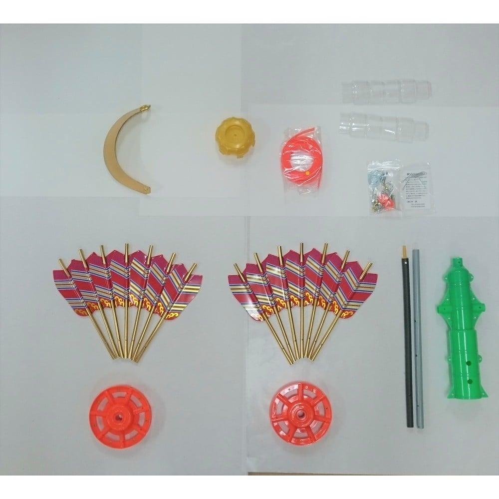 【鯉のぼり】矢車セットN-小(3/4m用・矢車50cm・回転球20cm)【送料無料】