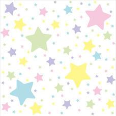 <トイザらス> トイザらスオリジナル クッションマット2畳(星柄パステルカラー)