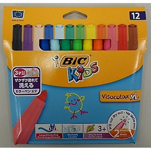 BICKIDS(ビックキッズ) カラーペン 12色(太字)