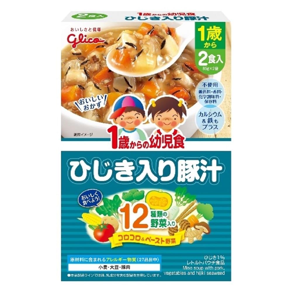 1歳からの幼児食 ひじき入り豚汁(2食入り)
