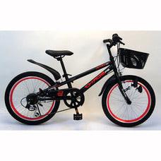 <トイザらス> トイザらス AVIGO 20インチ 子供用自転車 カオス(ブラック/レッド)