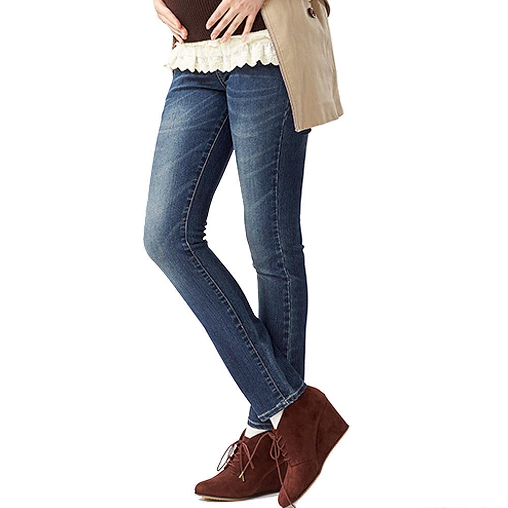 inujirushi jeans フロントクロスパンツ ネイビー×L【クリアランス】