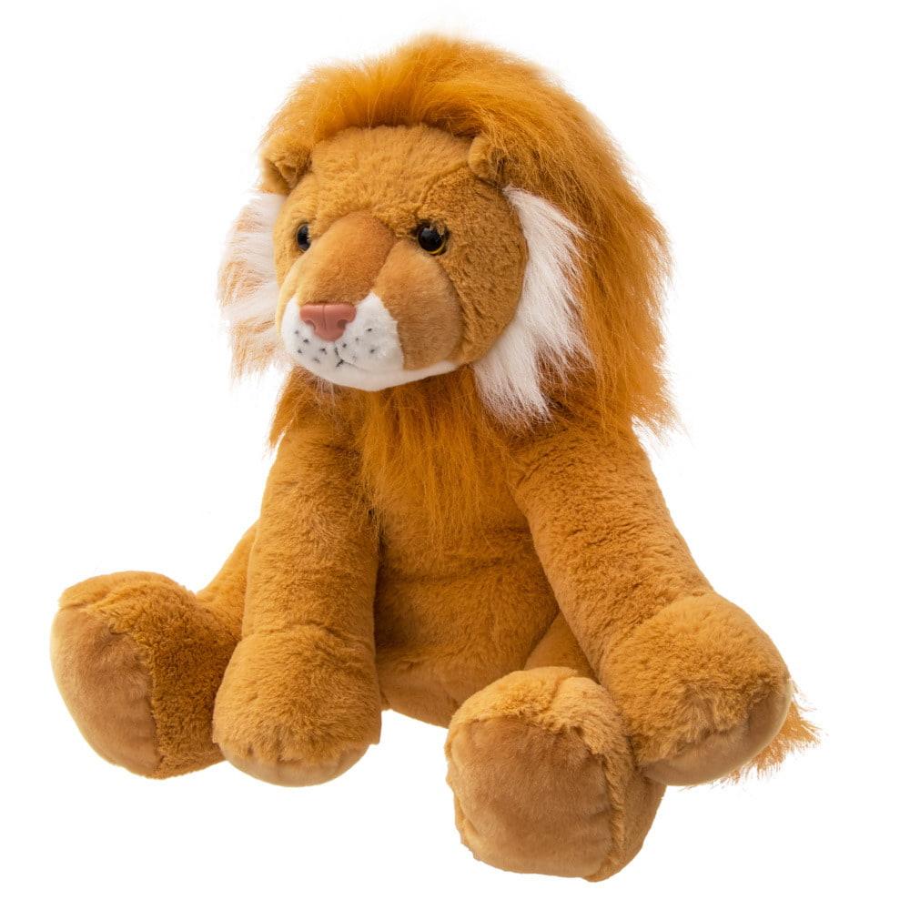 【クリアランス】トイザらス アニマルアレイ ぬいぐるみ ライオン(39cm)