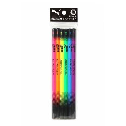 トイザらス・ベビーザらス オンラインストアPUMA 鉛筆セット(2B)6本セット