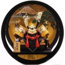 <トイザらス> 送料無料【五月人形】トイザらス限定 兜ケース飾り「双龍富士松 丸形アクリル」