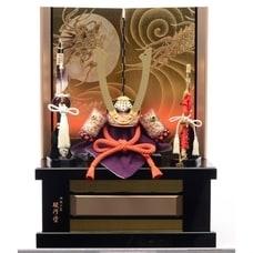 <トイザらス> 送料無料【五月人形】トイザらス限定 兜収納飾り「和紙小札 赤絲縅長鍬」