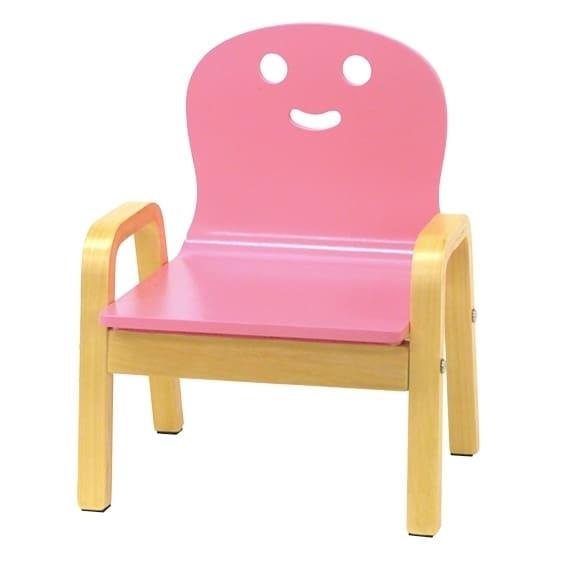 キコリの小イス(ピンク)【オンライン限定】