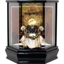 <トイザらス> 送料無料【五月人形】トイザらス限定 兜ケース飾り ダイヤ形アクリル織田信長