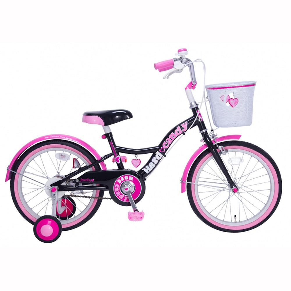 トイザらス・ベビーザらス オンラインストア18インチ 子供用自転車 ハードキャンディ スパイスガール(ブラック)