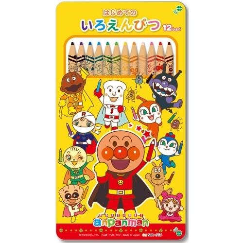 アンパンマン はじめてのいろえんぴつ(12色)